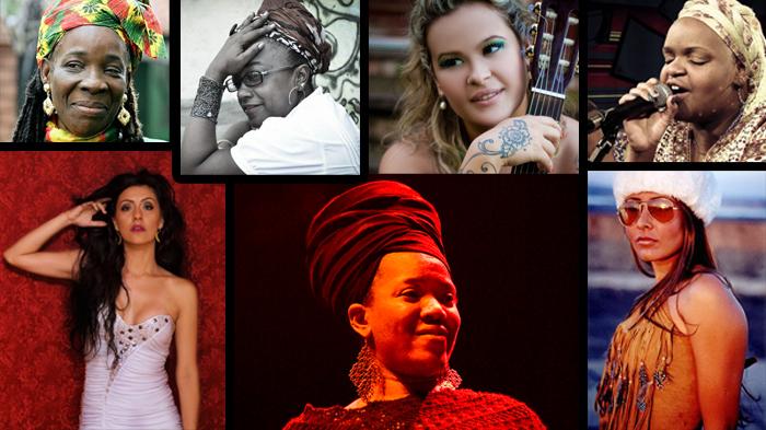 Rita marley, Tati Chimarruts, Dezarie, Izabella, Aline Duran, Filosofia Reggae