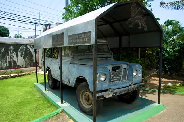 Land Rover do Bob Marley