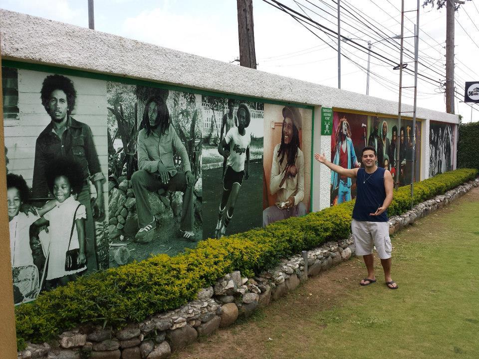 Parede Grafite Bob Marley